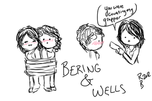 Bering and Wells Chibis by anon-e-mouse95
