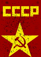Soviet Union in Red by Botulizard