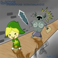 Phantoms and Link by Adoraborialis