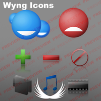 Wyng Messenger Icons by PsychOut