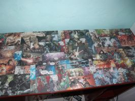 star wars table by animematheus