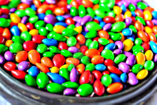 Colorful Candy Seeds by Greyeyez1980