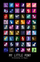 SO MANY PONIES by SteveHoltisCool