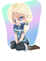 .:Chibi Commission:. by HellAwaitsArts