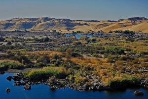 A view from Aswan by Yousry-Aref