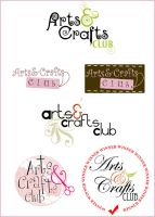 Arts and Carfts Club Logo by sweeta18