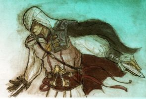 Assassin's Creed Sketch by photon-nmo