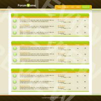 Amped Forum Skin by magicgfx