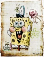 Spongebob by patrykcyk