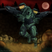 Halo-ween 2013 by AxeMan5