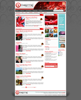 OneTheme Default - Red by STRIF3wind