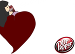 Heart Dr. Pepper by cheesecapie