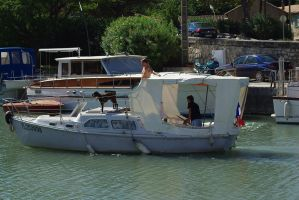 Boats 4 Beaucaire. France by jennystokes