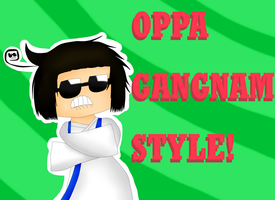 [APH] OPPA GANGNAM STYLE! by FBandCC