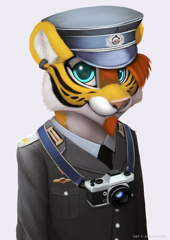 Lee-taiger (Bust Commission) by jamesfoxbr