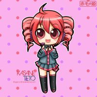 UTAUloid - Kasane Teto by Akage-no-Hime