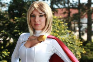 Powergirl Portrait by Biseuse