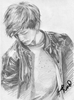 Onew Drawing by TheNomNomApple