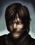 Norman Reedus as Daryl by Veleri