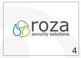 Roza Security Logo 4 by HalitYesil