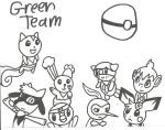 Green Team by cmara