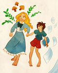 Marnie and Anna by hazumonster