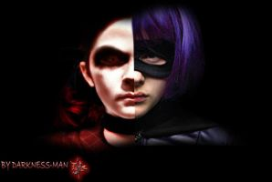 ESTHER VS HIT GIRL by Darkness-Man