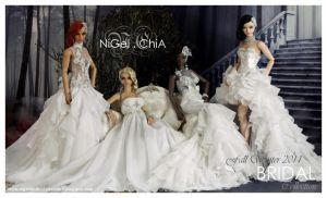 fall winter bridal collection by Nigelchia