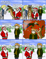 Twilight: Carlisle Saves Xmas and Edward Wrecks It by alisagirard
