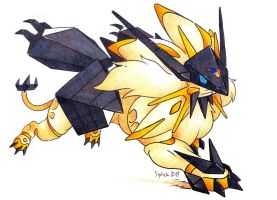 Ultra Solgaleo by Siplick