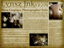 Lynxz Ink Crack Bulletin pgA1 by arlihama