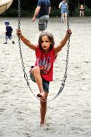 D'Arcy: Leg Up to the Swing by basseca