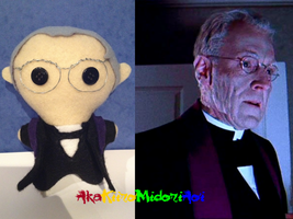 The Exorcist Plushes: Father Merrin by AkaKiiroMidoriAoi