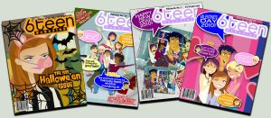 6TEEN MAGAZINE covers CATCH-UP by daanton