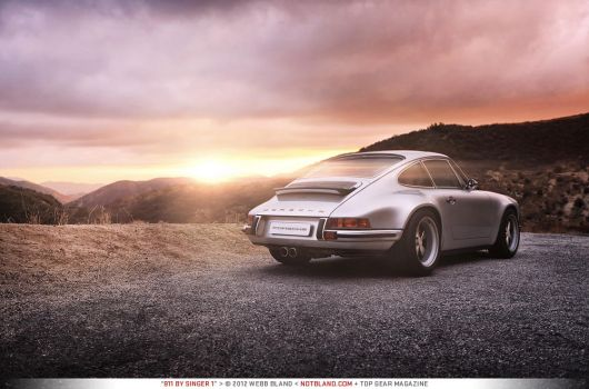 911 by Singer 1 - Top Gear Magazine by notbland