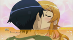 Oreimo PSP Kirino Route kiss con. by Chrisman1991