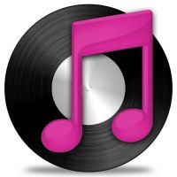 pink and black vinyl itunes by vector-assassin