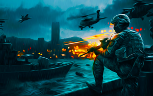BF4 concept art (oil paint) by centerdave77