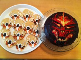 Diablo 3 treats by Krittlebug