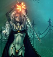Lady-Death by MuddyGreen