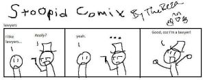 Stoopid Comix Laywers by TheReza13