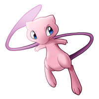 Pokemon 151 - Mew by illustrationoverdose
