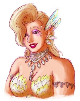 Great Fairy Kotera by Rosyan