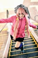 Megurine Luka:Up and Down by darkdiety