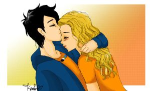 Commissions - Percabeth by karen-xan