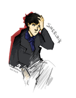 Sherlock: Breathing is boring. by vanipy05