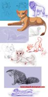 Sketches 2012 - 2 by kotenokgaff