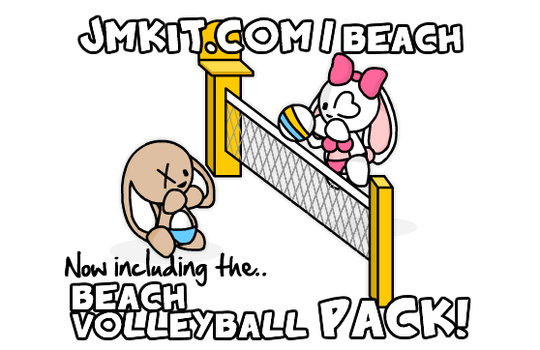 Beach Volleyball Pack by JinxBunny