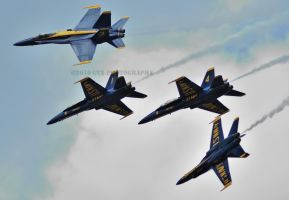 Blue Angels Breakaway by GTX-Media