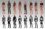 Thumbnails - Sci-Fi Characters by georgecatalin93